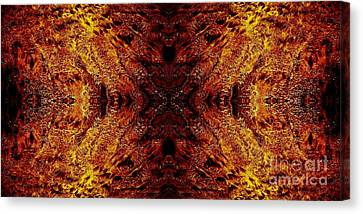 Hypnotic Sand Canvas Print