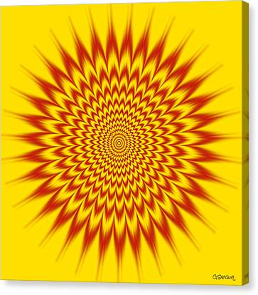 Hypnotic Vibes Canvas Print by Gianni Sarcone