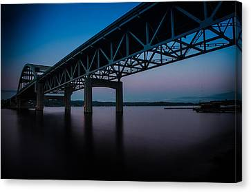 I-90 East Bound Canvas Print by Brian Xavier