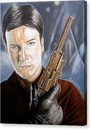 I Aim To Misbehave Canvas Print by Al  Molina