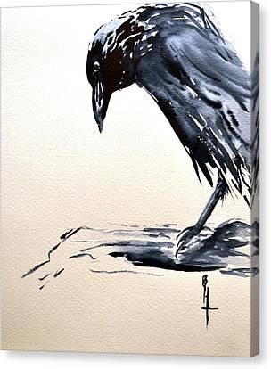 I Am A Crow Canvas Print