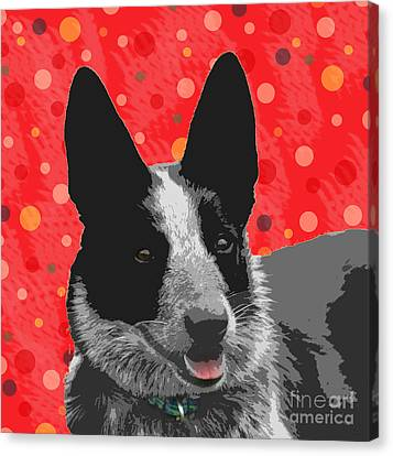 I Am All Ears Canvas Print by Nola Lee Kelsey