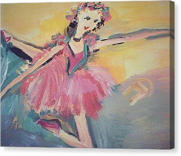 I Am Dancing A Love Song Canvas Print by Judith Desrosiers