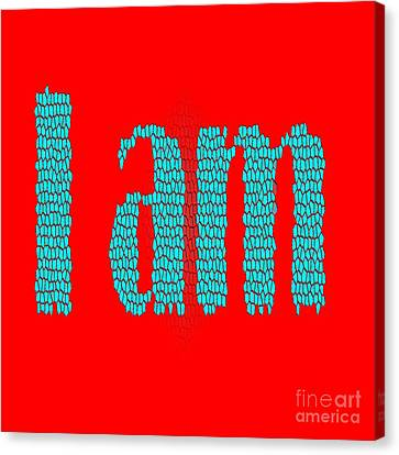I Am Canvas Print
