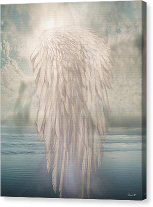 I Am Free Canvas Print by David M ( Maclean )