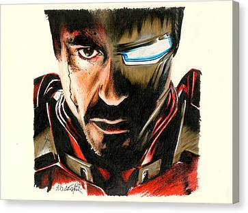 I Am Ironman Canvas Print by Scot Gotcher