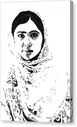 I Am Malala. Canvas Print