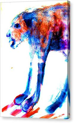 I Am Not A Beast So Please Don't Kill Me  Canvas Print by Hilde Widerberg