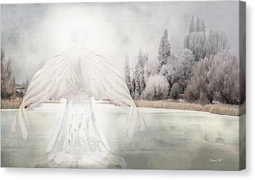 I Am Peaceful Canvas Print by David M ( Maclean )