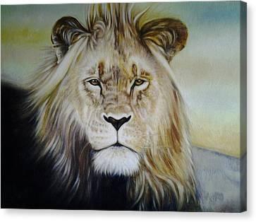 I Am Canvas Print by Riek  Jonker