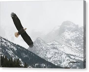 I Am The Eagle Canvas Print