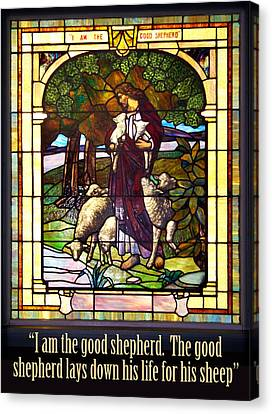 I Am The Good Shepherd Canvas Print by Rod Seel