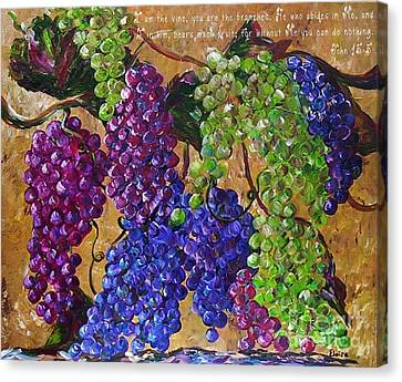 I Am The Vine Canvas Print