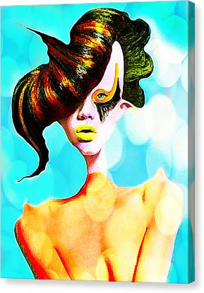 I Am Yours Canvas Print by Yosi Cupano