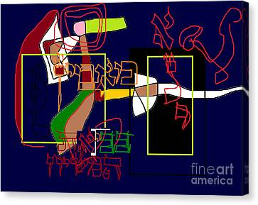 I Believe With Complete Faith In The Coming Of Mashiach Canvas Print by David Baruch Wolk