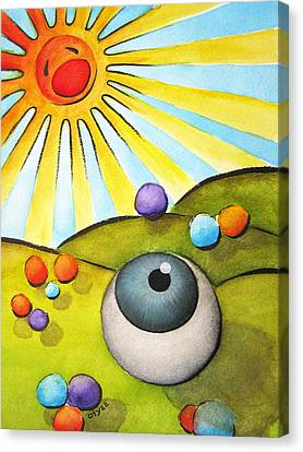 I Can See Clearly Now Canvas Print by Oiyee At Oystudio