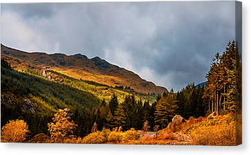 I Cant Forget This Light. Scotland Canvas Print