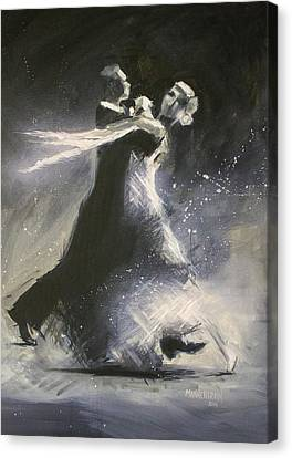 I Could Have Danced All Night Canvas Print by Melissa Herrin