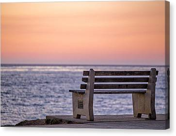 I Could Sit Here All Day Canvas Print by Peter Tellone