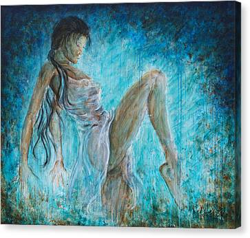 I Dance Alone Canvas Print by Nik Helbig