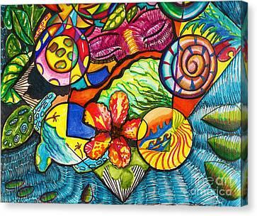 I Dream Of An Island Canvas Print