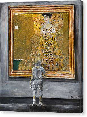 I Dream Of Klimt Canvas Print