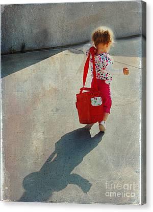 I Go To Work Like Momma Canvas Print by Laura Sapko
