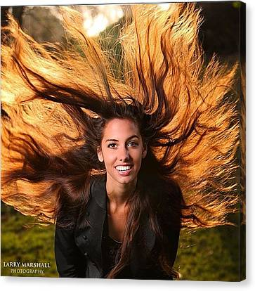 I Had An Opportunity To Shoot Dana Canvas Print by Larry Marshall