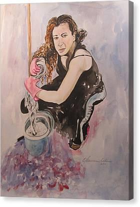 I Hate Women's Work Canvas Print