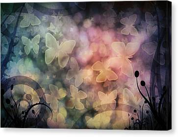 I Have A Dream... A Fantasy Canvas Print by Marianna Mills