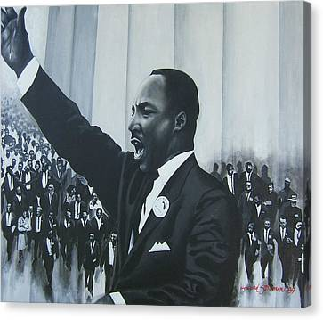 I Have A Dream Canvas Print by Howard Stroman