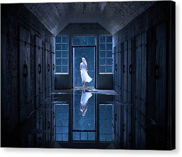 Corridor Canvas Print - I Have A Dream by Stig Hole