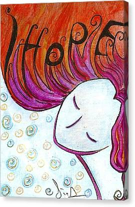 I Hope Canvas Print by Gioia Albano