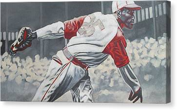 I Just Played Baseball Canvas Print by Paul Smutylo
