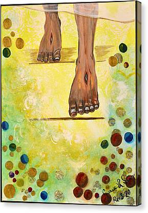 I Knock Canvas Print
