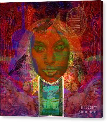 Solar Eyes Canvas Print