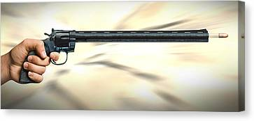 I Like Big Guns Canvas Print by Mike McGlothlen