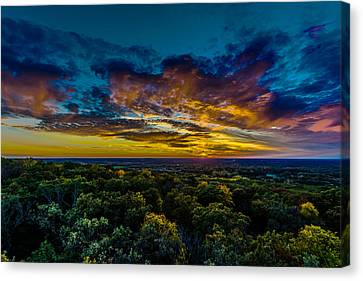 I Look At The World And I Notice It's Turning Canvas Print by Randy Scherkenbach