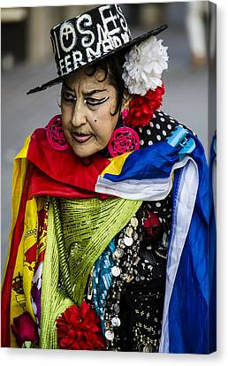 I Love Colors Canvas Print by Sotiris Filippou
