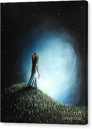 I Love Her So Much I Cry By Shawna Erback Canvas Print by Shawna Erback