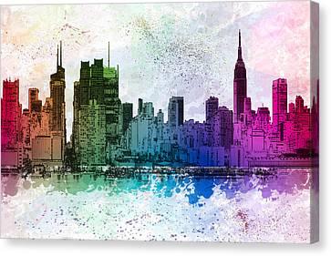 I Love New York Canvas Print by Susan Candelario