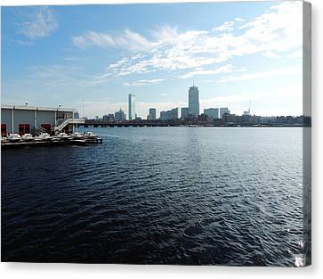 I Love That Dirty Water Canvas Print by Mike Greco