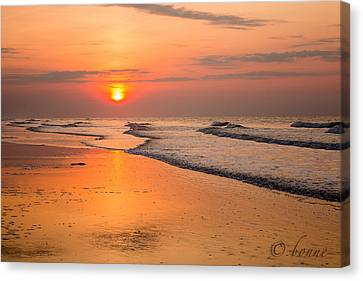 I Love The Morning Canvas Print by Bonnes Eyes Fine Art Photography