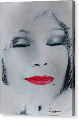 I Love To Smell Fresh Rain Canvas Print by EricaMaxine  Price