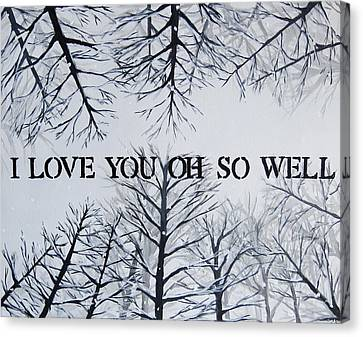 Dmb Canvas Print - I Love You Oh So Well Dmb Painting by Michelle Eshleman