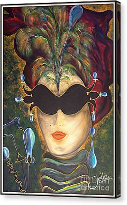 I Put A Spell On You... Canvas Print by Jolanta Anna Karolska