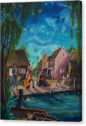 I See A Good Moon Arising Canvas Print by Matt Konar