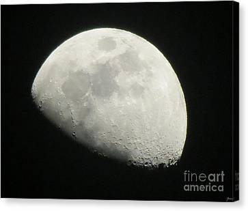 I See The Moon And The Moon Sees Me Canvas Print