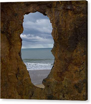I See The Sea Canvas Print by Heather Provan