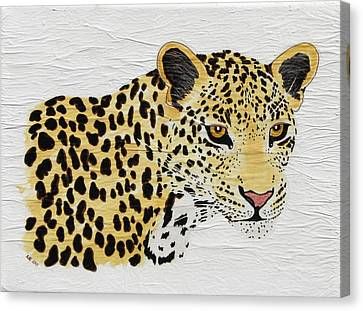 Canvas Print featuring the painting I See You 2 by Stephanie Grant
